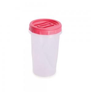Imagem do produto - Pote de Plástico Redondo 550 ml Rosca