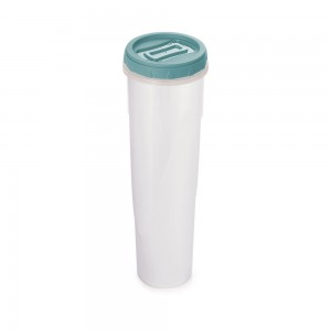 Imagem do produto - Pote de Plástico Redondo1 L Rosca