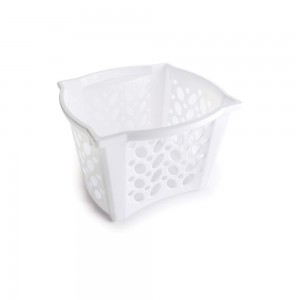 Imagem do produto - Cestinha de Plástico Retangular Organizadora 9,4 L Empilhável