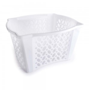 Imagem do produto - Cestinha de Plástico Retangular Organizadora 28 L Empilhável