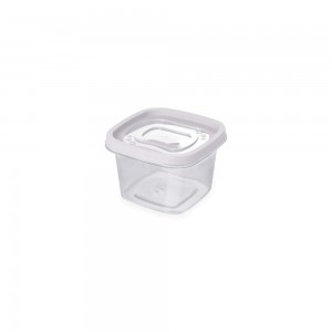 Imagem do produto - Pote de Plástico Quadrado 500 ml Clic