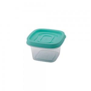 Imagem do produto - Pote de Plástico Quadrado 200 ml Clic
