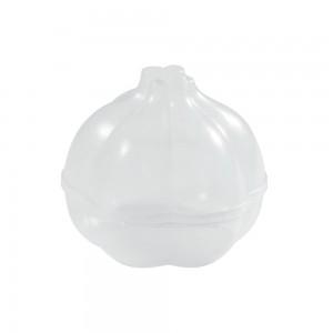 Imagem do produto - Pote de Plástico com Tampa Fixa em Formato de Alho