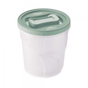 Imagem do produto - Pote de Plástico Redondo 4,5 L Rosca