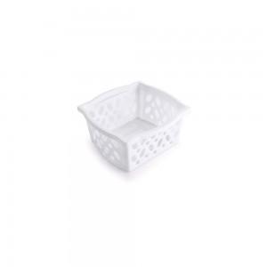 Imagem do produto - Cestinha de Plástico Retangular Organizadora Empilhável Pequena