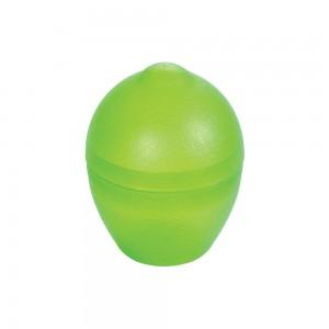 Imagem do produto - Pote de Plástico com Tampa Encaixável em Formato de Limão