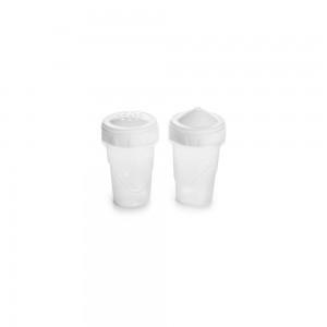 Imagem do produto - Saleiro e Paliteiro de Plástico com Tampa Rosca