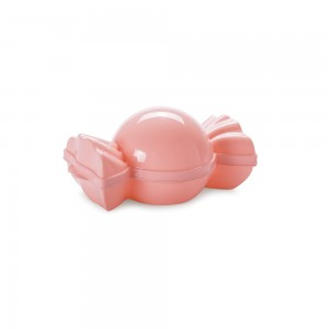 Imagem do produto - Pote de Plástico com Tampa Fixa em Formato de Bombom