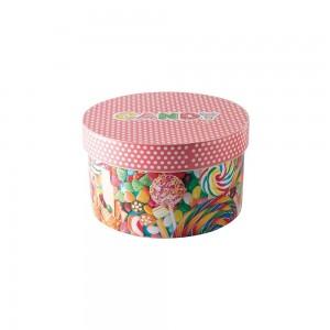 Imagem do produto - Caixa de  Plástico Redonda 2,1 L com Tampa Encaixável Doces