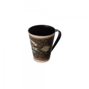 Imagem do produto - Caneca de Plástico 360 ml Cafe da Manhã Retrô