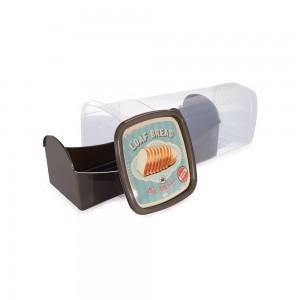 Imagem do produto - Porta Pão de Forma de Plástico Café da Manhã Retrô