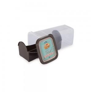 Imagem do produto - Porta Biscoito e Torrada de Plástico Café da Manhã Retrô
