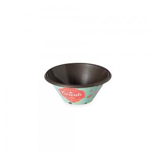 Imagem do produto - Tigela de Plástico 540 ml Cafá da Manhã Retrô
