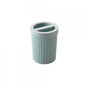 Imagem do produto - Porta Cotonete de Plástico Trama Verde