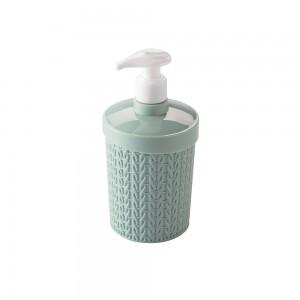 Imagem do produto - Porta Sabonete Líquido de Plástico 360 ml Trama Verde