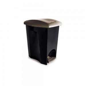 Imagem do produto - Lixeira de Plástico 7 L com Pedal Ecoblack
