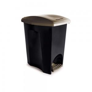 Imagem do produto - Lixeira de Plástico 15 L com Pedal Ecoblack
