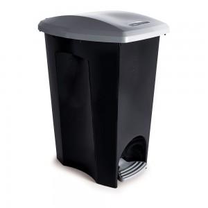 Imagem do produto - Lixeira 33 L com Pedal - 3 em 1 | Ecoblack