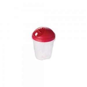 Imagem do produto - Farinheiro e Açucareiro de Plástico com Tampa Encaixável e Bico Direcionador