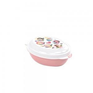 Imagem do produto - Saboneteira de Plástico com Tampa Fixa Princesas