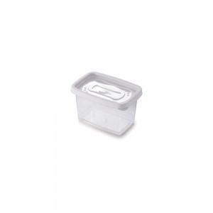 Imagem do produto - Pote de Plástico Retangular 430 ml Clic