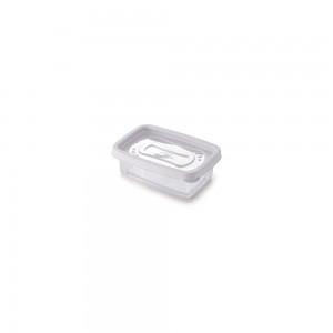 Imagem do produto - Pote de Plástico Retangular 180 ml Clic