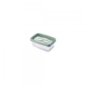 Imagem do produto - Pote de Plástico Retangular 180 ml Clic Verde