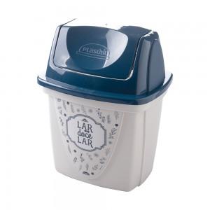 Imagem do produto - Lixeira de Plástico 6,5 L com Tampa Basculante para Pia Fazenda