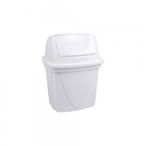 Imagem do produto - Lixeira de Plástico 6,5 L com Tampa Basculante para Pia