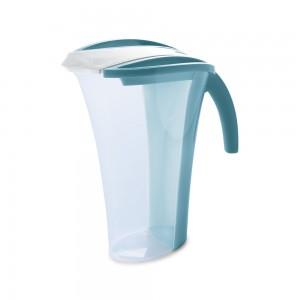 Imagem do produto - Jarra de Plástico 1,7 L com Tampa e Sobretampa Articulável Flamingo