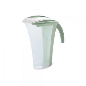 Imagem do produto - Jarra de Plástico 1,7 L com Tampa e Sobretampa Articulável Verde