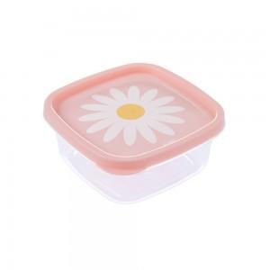 Imagem do produto - Pote de Plástico Quadrado 580 ml Clic Camomila