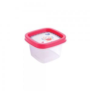 Imagem do produto - Pote de Plástico Quadrado 200 ml Clic Coruja