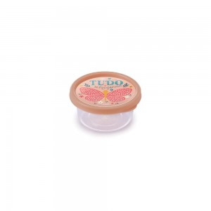 Imagem do produto - Pote de Plástico Redondo 250 ml Clic Borboleta