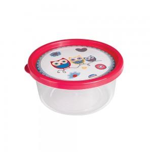 Imagem do produto - Pote de Plástico Redondo 650 ml Clic Coruja
