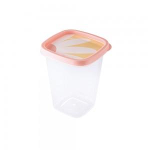Imagem do produto - Pote de Plástico Quadrado 950 ml Clic Camomila