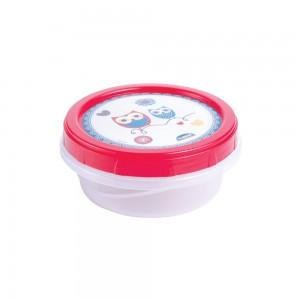 Imagem do produto - Pote de Plástico Redondo 390 ml Rosca Coruja