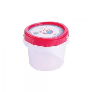 Imagem do produto - Pote de Plástico Redondo 300 ml Rosca Coruja
