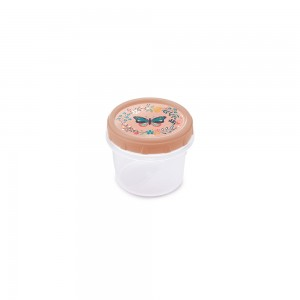 Imagem do produto - Pote de Plástico Redondo 300 ml Rosca Borboleta