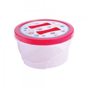 Imagem do produto - Pote de Plástico Redondo 1,4 L Rosca Coruja