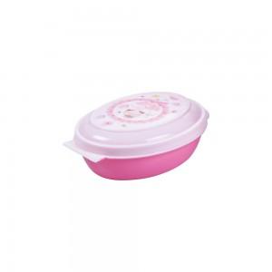 Imagem do produto - Saboneteira de Plástico com Tampa Fixa Bailarina