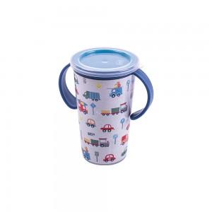 Imagem do produto - Copo de Plástico com Alça 280 ml  Magic Carrinhos