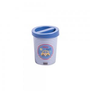 Imagem do produto - Porta Cotonetes de Plástico Carrinhos