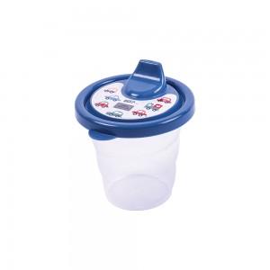 Imagem do produto - Copo de Plástico 200 ml com Tampa e Bico Carrinhos