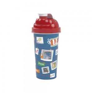 Imagem do produto - Shakeira de Plástico 580 ml com Tampa Rosca e Misturador Dpa, Detetives do Predio Azul