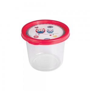 Imagem do produto - Pote de Plástico Redondo 480 ml Clic Coruja