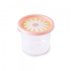 Imagem do produto - Pote de Plástico Redondo 480 ml Clic Camomila