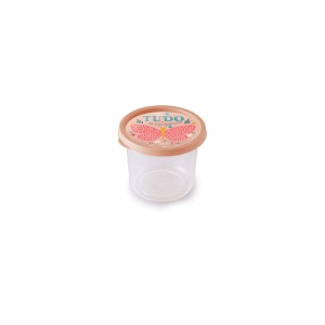 Imagem do produto - Pote de Plástico Redondo 480 ml Clic Borboleta
