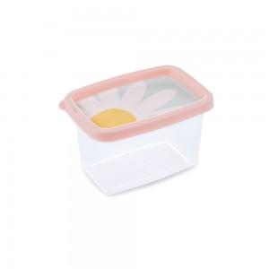 Imagem do produto - Pote de Plástico Retangular 430 ml Clic Camomila