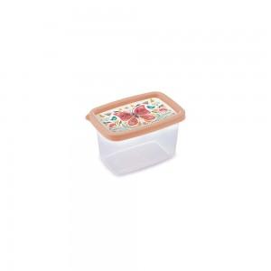Imagem do produto - Pote de Plástico Retangular 430 ml Clic Borboleta